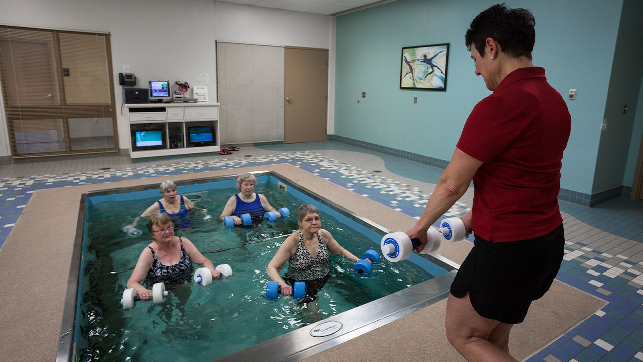 Pieters Family Life Center Therapy Pool